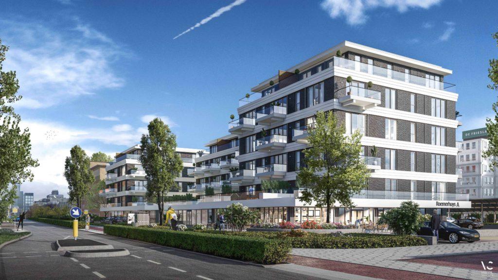 Appartementencomplex te Leeuwarden