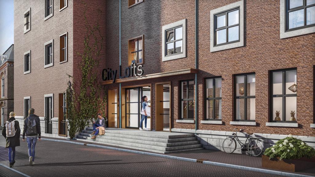 Wooncomplex te Leeuwarden